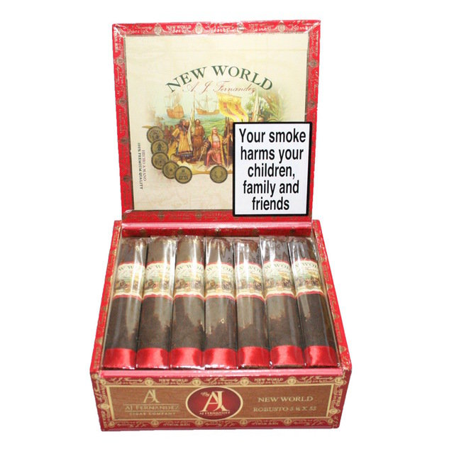 A.J. Fernandez New World Navegante Cigar - Box of 21