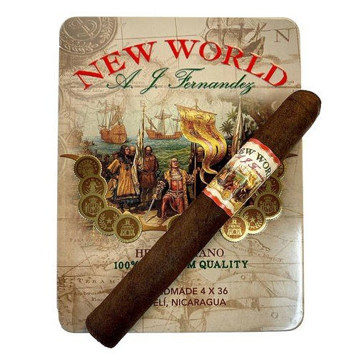 A.J. Fernandez New World Oscuro Petit Corona - Tin of 6 cigars