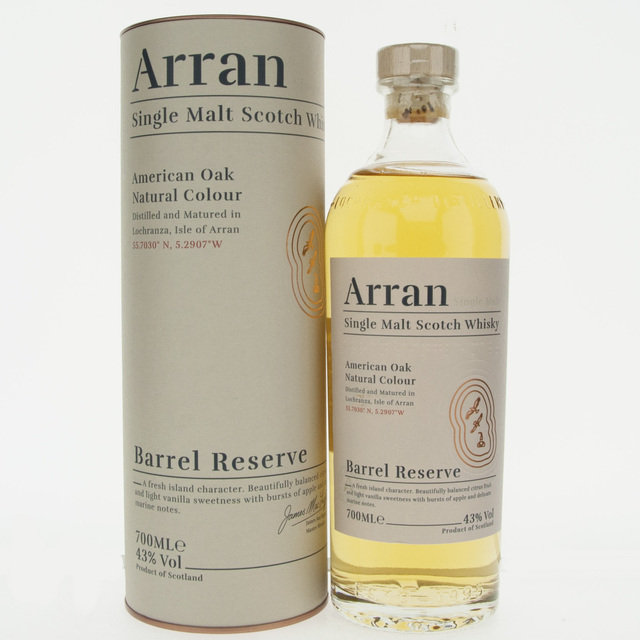 Arran Barrel Reserve Single Malt Scotch Whisky - 70cl, 43% vol.