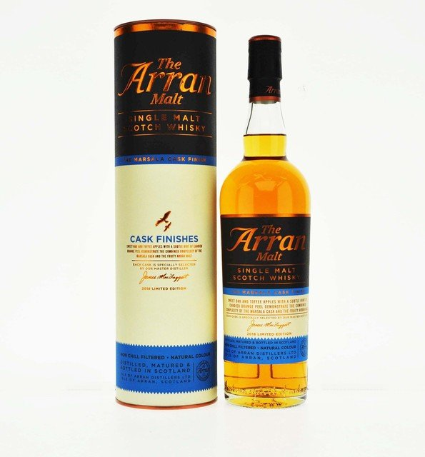 Arran Marsala Cask Finish Finish Single Malt Scotch Whisky - 70cl, 50% vol