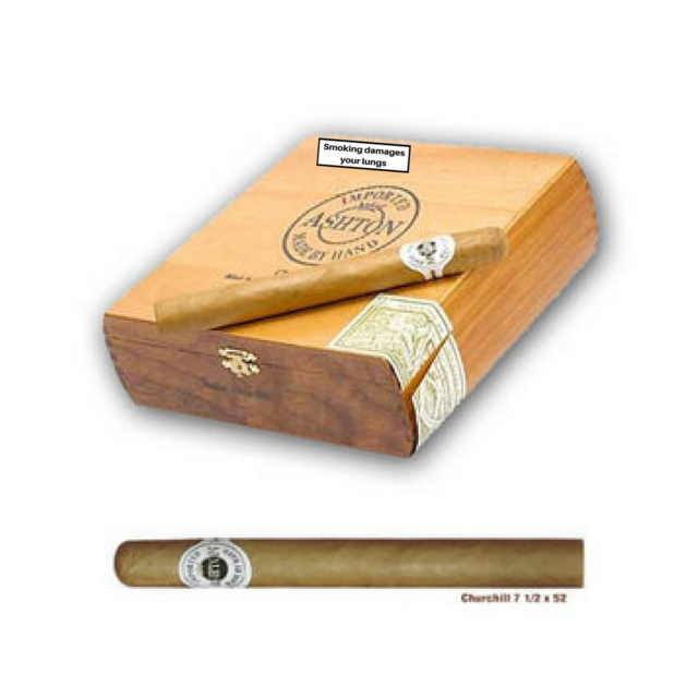Ashton Classic Churchill Cigars - Box of 25