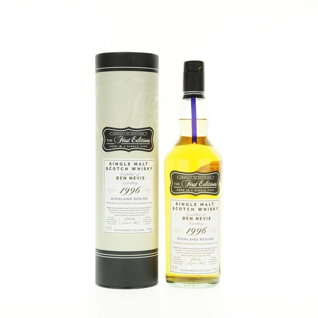 Ben Nevis 1996 The First Editions Single Cask