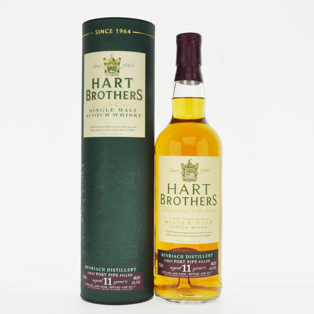 Benriach 2006 11 Year Old Hart Brothers Port Pipe Single Malt Scotch Whisky - 70cl, 46.0%