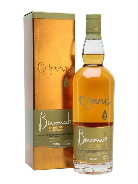 Benromach - Organic Single Malt (70cl, 43% ABV)