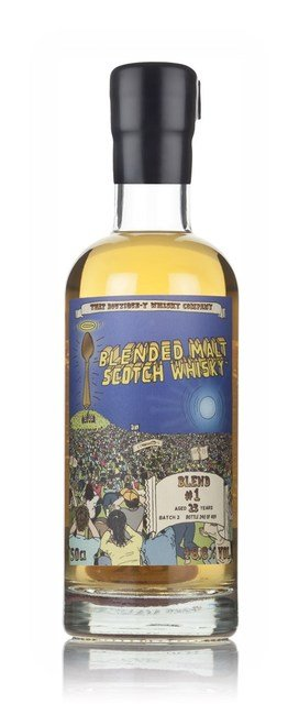 Blended Malt #1 23 Year Old Batch 2 Boutique-y Whisky Company Blended Malt Scotch Whisky - 50cl, 48.8%