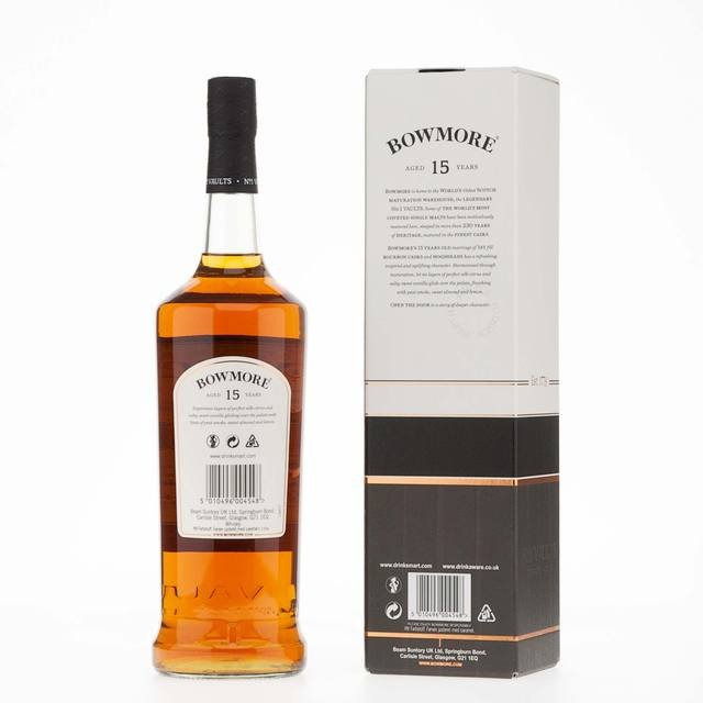Bowmore 15 Year Old 1Ltr