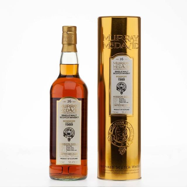 Bowmore 26 Year Old Murray McDavid Mission Gold