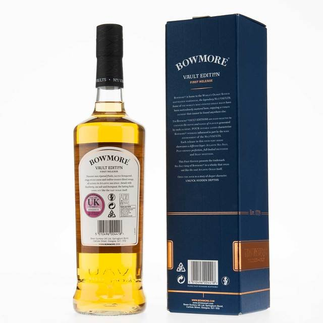Bowmore Vaults Edition Single Malt Scotch Whisky 51.5% Vol 70Cl Thumbnail