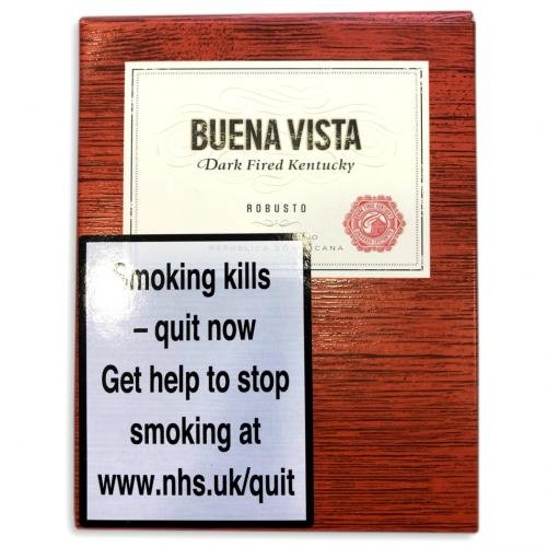 Buena Vista Dark Fired Kentucky Robusto - 5 pack