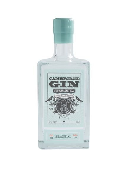 Cambridge Distillery, Seasonal Gin - 70cl, 42% ABV
