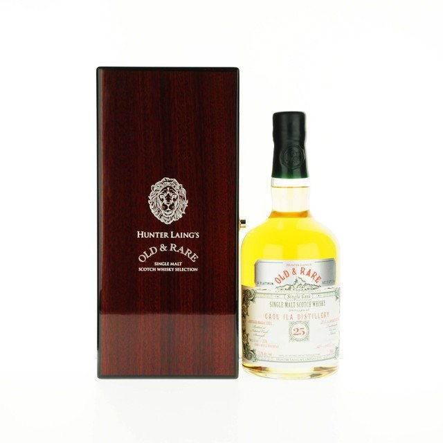 Caol Ila 25 Year Old Hunter Laing Old & Rare Platinum Selection