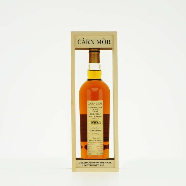 Carn Mor Celebration of Cask Strathmill 1994 Scotch Single Malt Whisky 48.2% Vol 70cl