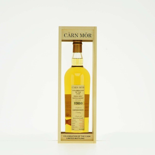 Carn Mor Celebration of the Cask Caperdonich 1988 Single Malt Scotch Whisky 49.1% Vol 70cl