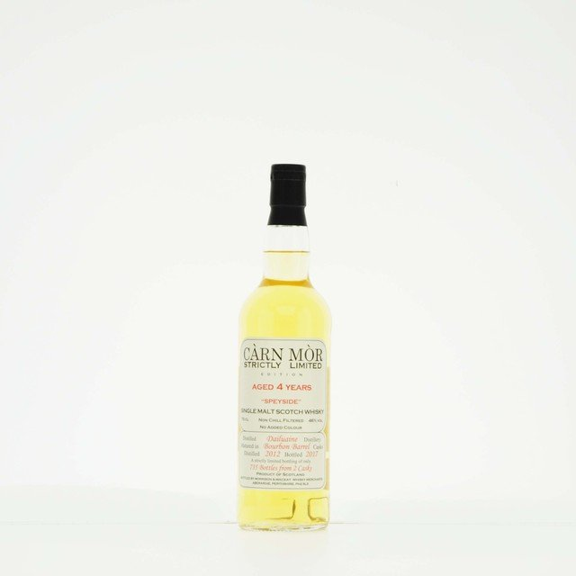 Carn Mor Strictly Limited Dailuaine 4 Year Old Single Malt Scotch Whisky 46% Vol 70cl