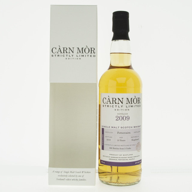 Carn Mor Strictly Limited Fettercairn 2009 10 Year Old Single Malt Scotch Whisky - 70cl, 47.5%