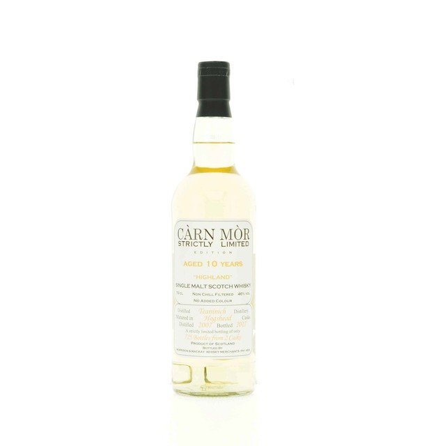 Carn Mor Strictly Limited Teaninich 10 Year Old Single Malt Scotch Whisky - 70cl, 46%