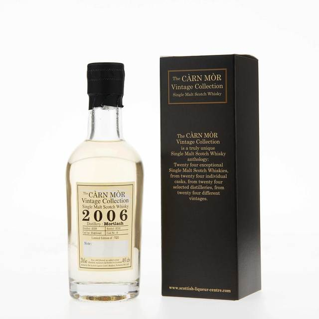 Carn Mor Vintage Collection Mortlach 2006 Single Malt Scotch Whisky (20cl, 46% vol)