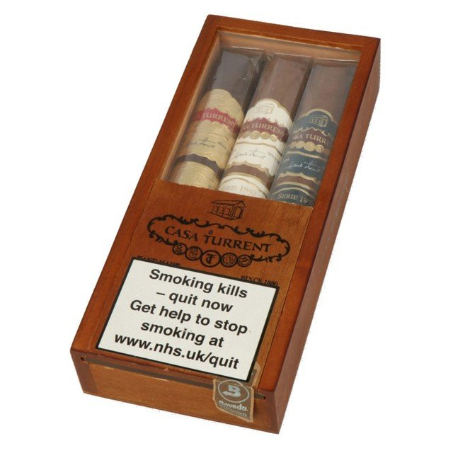 Casa Turrent Gran Robusto Sampler - pack of 3 cigars