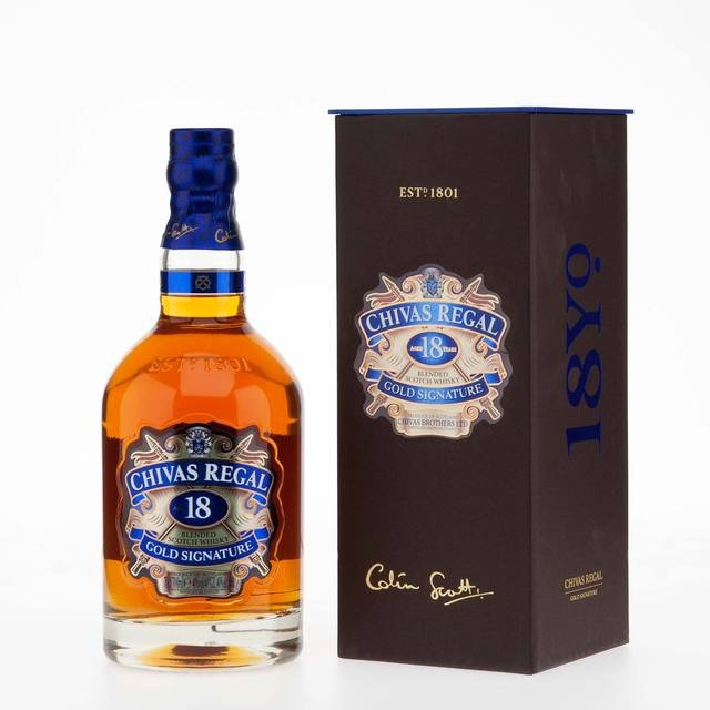 Chivas Regal Blended Scotch Whisky 18 Year Old 40% Vol 70Cl