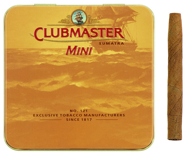 Clubmaster Mini Sumatra - Tin of 20