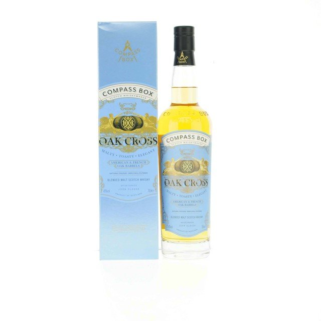 Compass Box Oak Cross Blended Malt Scotch Whisky 43% 70Cl