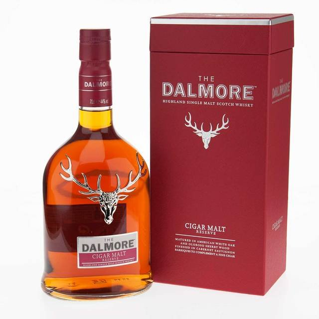 Dalmore Cigar Reserve Single Malt Scotch Whisky 44% ABV 70Cl
