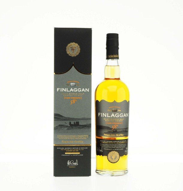 Finlaggan Cask Strength 58%