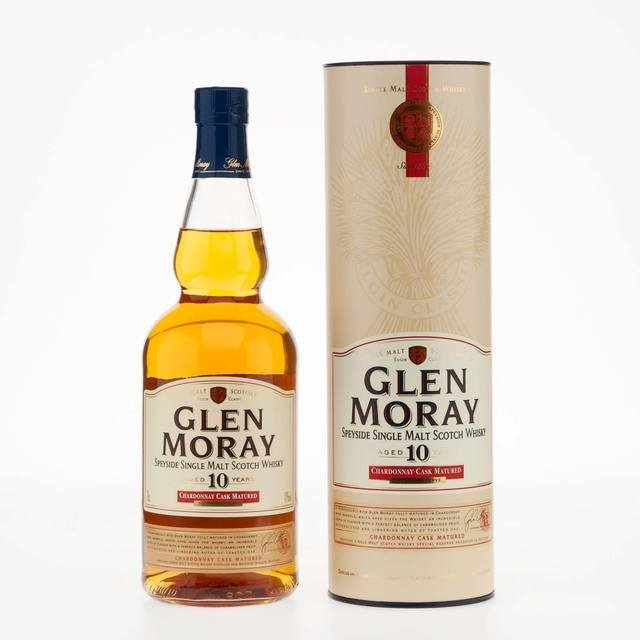 Glen Moray 10 Year Old Chardonnay Cask Matured