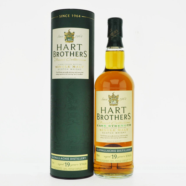 Glenallachie 1995 19 Year Old Hart Brothers Single Malt Scotch Whisky - 70cl, 56.7%