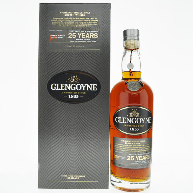Glengoyne 25 Year Old Single Malt Scotch Whisky - 70cl, 48% vol.