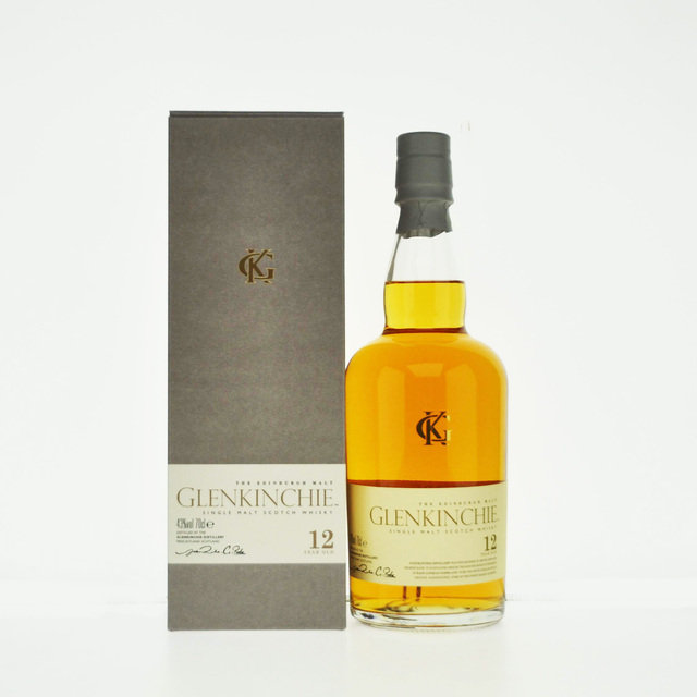 Glenkinchie 12 Year Old Single Malt Scotch Whisky (70cl 43%)