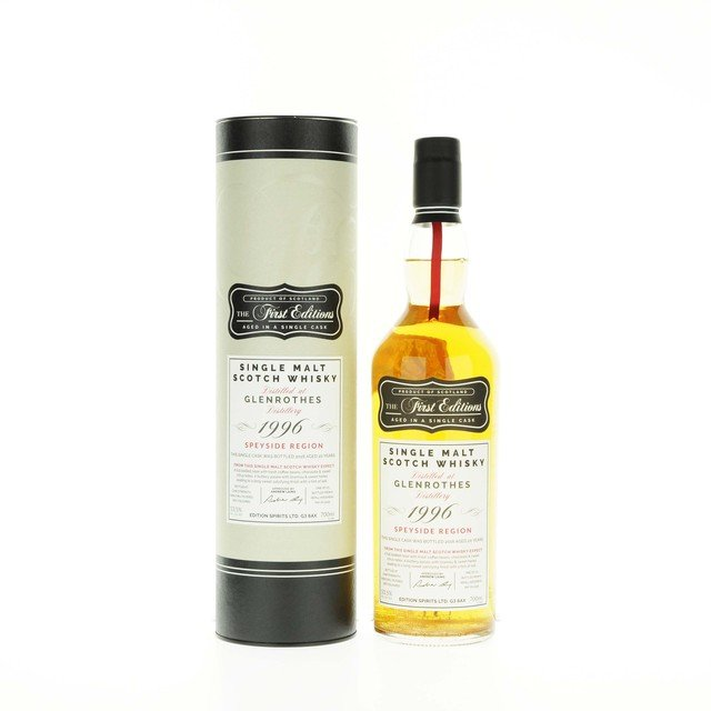 Glenrothes 1996 The First Editions Single Cask