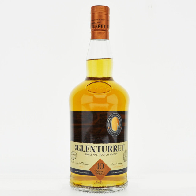 Glenturret 10 Year Old Single Malt Scotch Whisky - 70cl, 40% vol.