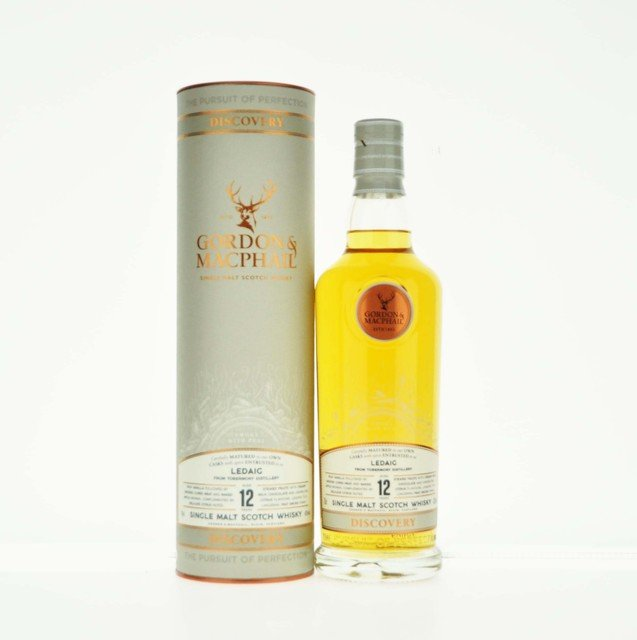 Gordon & MacPhail Discovery Ledaig 12 Year Old Single Malt Scotch Whisky - 70cl, 43% vol.