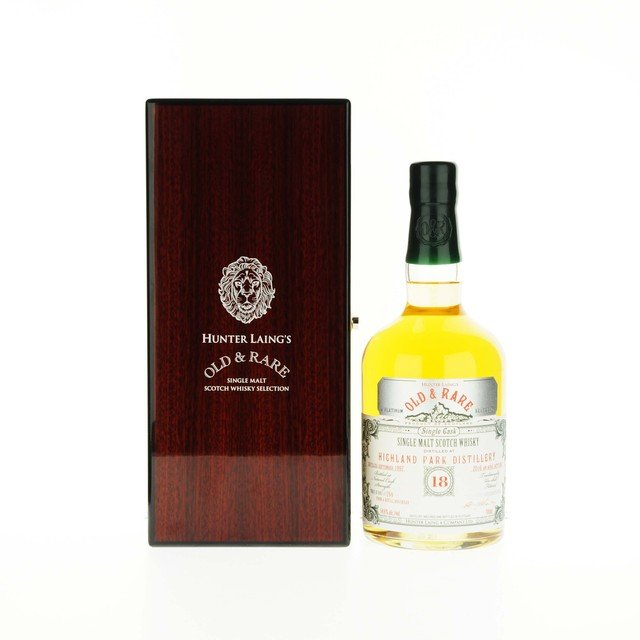 Highland Park 18 Year Old Hunter Laing Old & Rare Platinum Selection