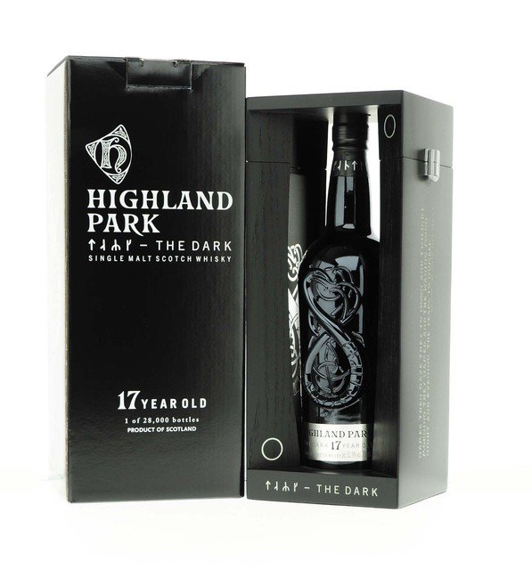 Highland Park The Dark 17 Year Old Single Malt Scotch Whisky - 70cl 52.9%