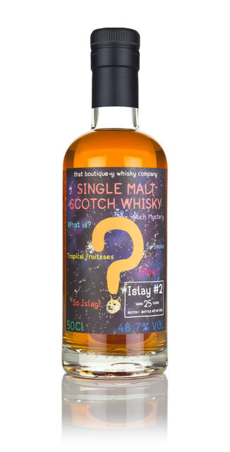 Islay #2 25 Year Old Batch 1 Boutique-y Whisky Company Single Malt Scotch Whisky - 70cl, 48.7%