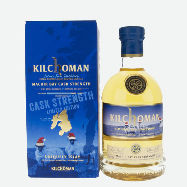 Kilchoman Cask Strength Machir Bay Single Malt Scotch Whisky - 70cl, 58.6%