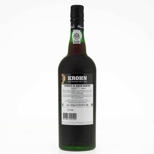 Krohn 20 Year Old Tawny Port Thumbnail