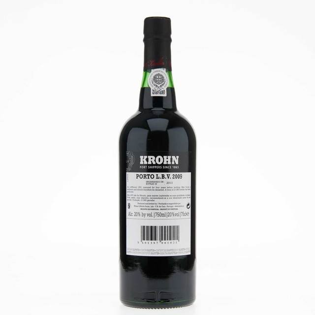 Krohn 2009 Late Bottled Vintage Port