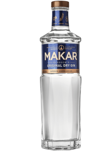 Makar Original Dry Gin - 70cl, 43% vol.