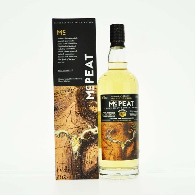 McPeat Single Malt Scotch Whisky - 70cl, 43.5% vol.