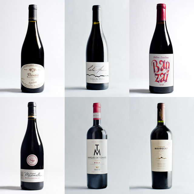 Mixed Red Wine Bundle (LV) - 6 x 75cl