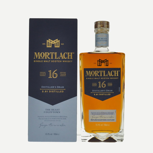 Mortlach 16 Year Old 43.4% 70cl