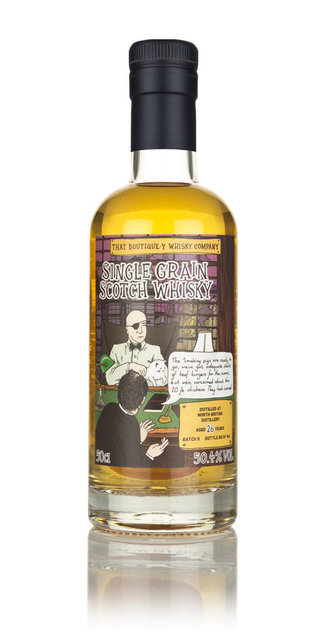 North British 26 Year Old Batch #5 Boutique-y Whisky Company Single Grain Scotch Whisky - 50cl, 50.4%