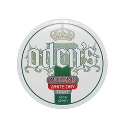 Odens Pure Wintergreen Extreme White Dry Tight Chew Bags