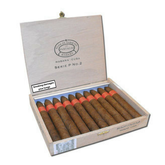 Partagas Serie P No. 2 Cigar - Box of 10