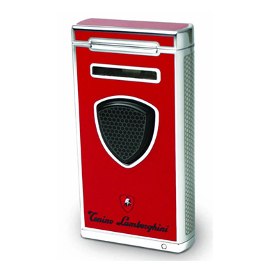 Lamborghini Pergusa Combi Flame Lighter - Red