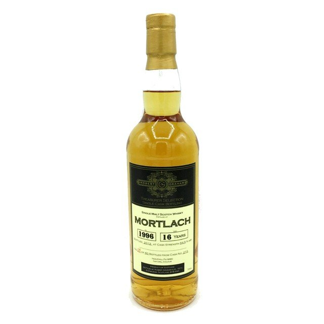 Robert Graham Treasurer Mortlach 1996 16 Year Old Single Malt Scotch Whisky - 70cl, 54.5% vol.