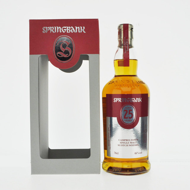 Springbank 25 Years Old Single Malt Scotch Whisky - 2016 Limited Edition - 70cl, 46% vol.